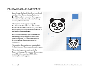 Panda Head Guidelines (© 2013 Panda Rose, ARR)